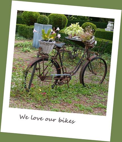 Flower bike in Vorden