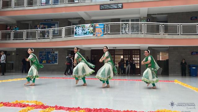 Festival de la India en la Uniagustiniana