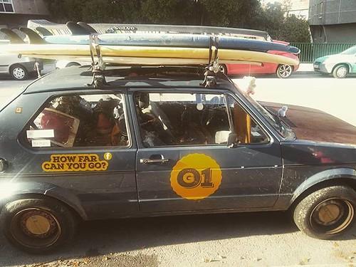 A veces hay que fijarse en las señales. Todo camino empieza con un pequeño paso. #rarecar #car #señales #gotravel #nómadas #Coruña