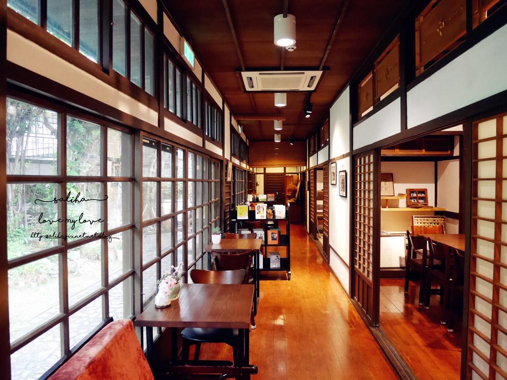 台北古亭站附近不限時日式咖啡廳下午茶推薦雅鴿書院 (5)