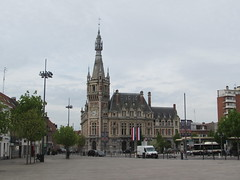 Tourcoing: Beffroi de la Chambre de Commerce de Tourcoing (Nord)