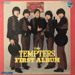 THE TEMPTERS:FIRST ALBUM(JACKET A)