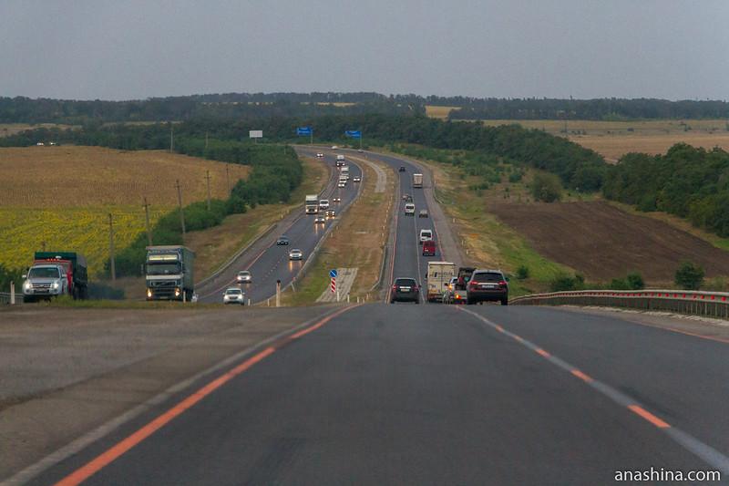 """Трасса М-4 """"Дон"""", Ростовская область"""