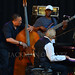 Hassan Shakur, Joshua Thomas, and Monty Alexander, Monty Alexander and The Harlem Kingston Express, Charlie Parker Jazz Festival by jackman on jazz