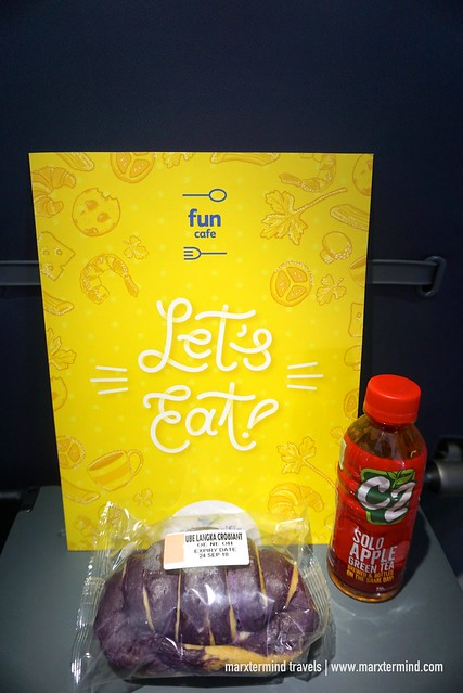 In-flight Snack Cebu Pacific Batanes