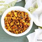 Cauliflower kovakkai curry