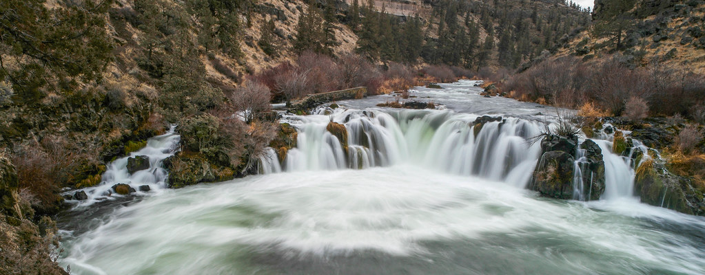 Steelhead Falls on the Deschutes River - Oregon