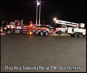Big Big Towing Near Me Rochester | Virgil's Auto Repair and Towing