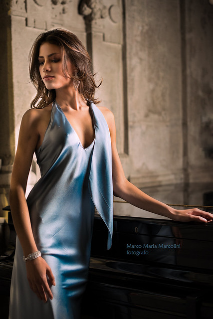 Silk and piano (BIG format!!)