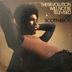 GIL SCOTT-HERON:THE REVOLUTON WILL NOT BE TELEVISED(JACKET A)