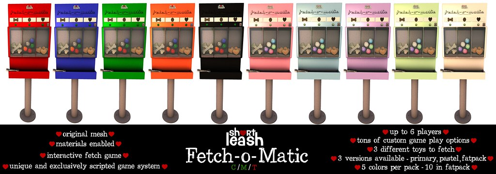 .:Short Leash:. Fetch-o-Matic
