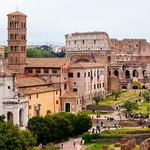 Roman Forums w/ Colosseo - https://www.flickr.com/people/34965710@N05/