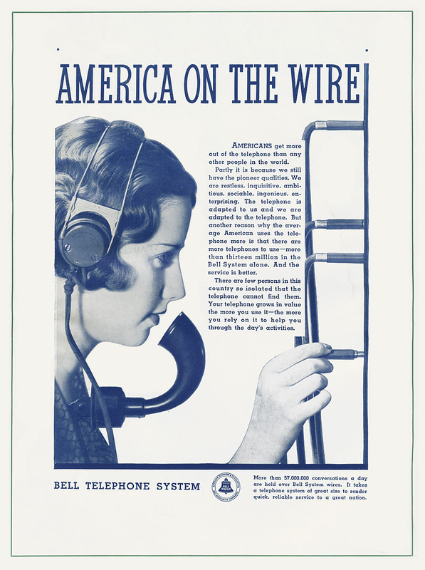 Bell Telephone System 1934