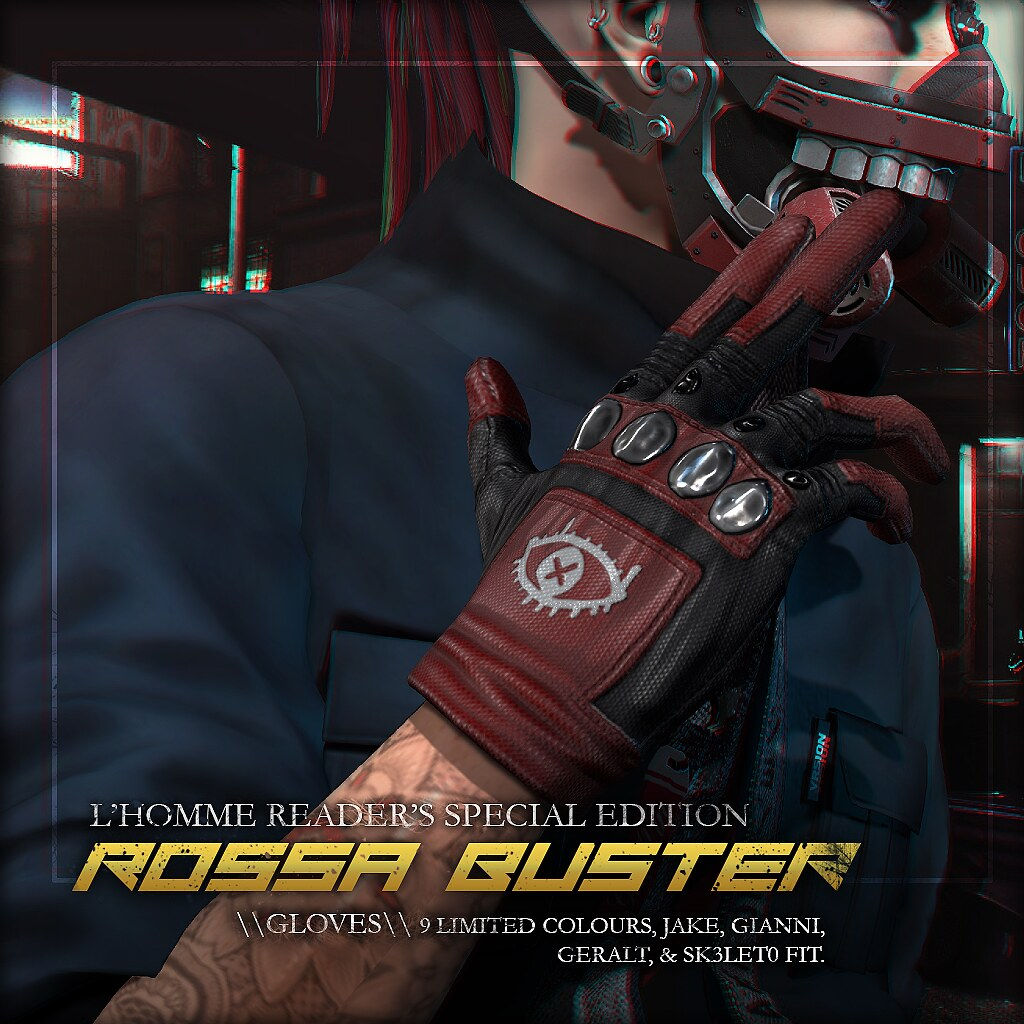 L'HOMME NOV 2018 GROUP GIFT: Rossa Buster Gloves