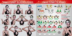 SEmotion Libellune Xmas Funny Glasses @ Arcade 1th December