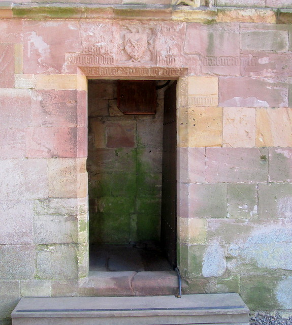 Melrose Abbey Doorway