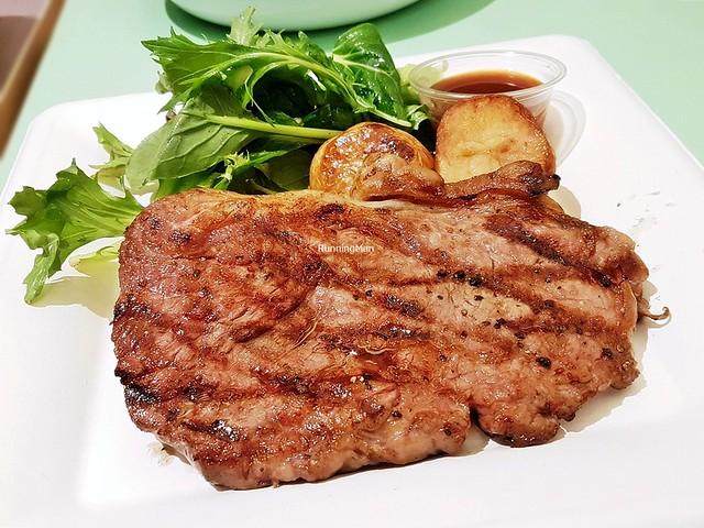 Grilled Tajima Wagyu Beef Striploin MS 8