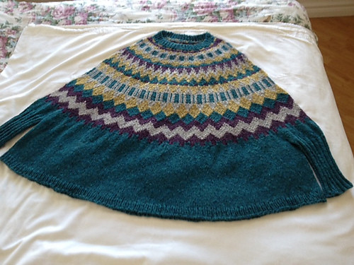 Connie's Ninilchik Swoncho is blocking!!