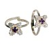 Pair of color CZ Toe Rings