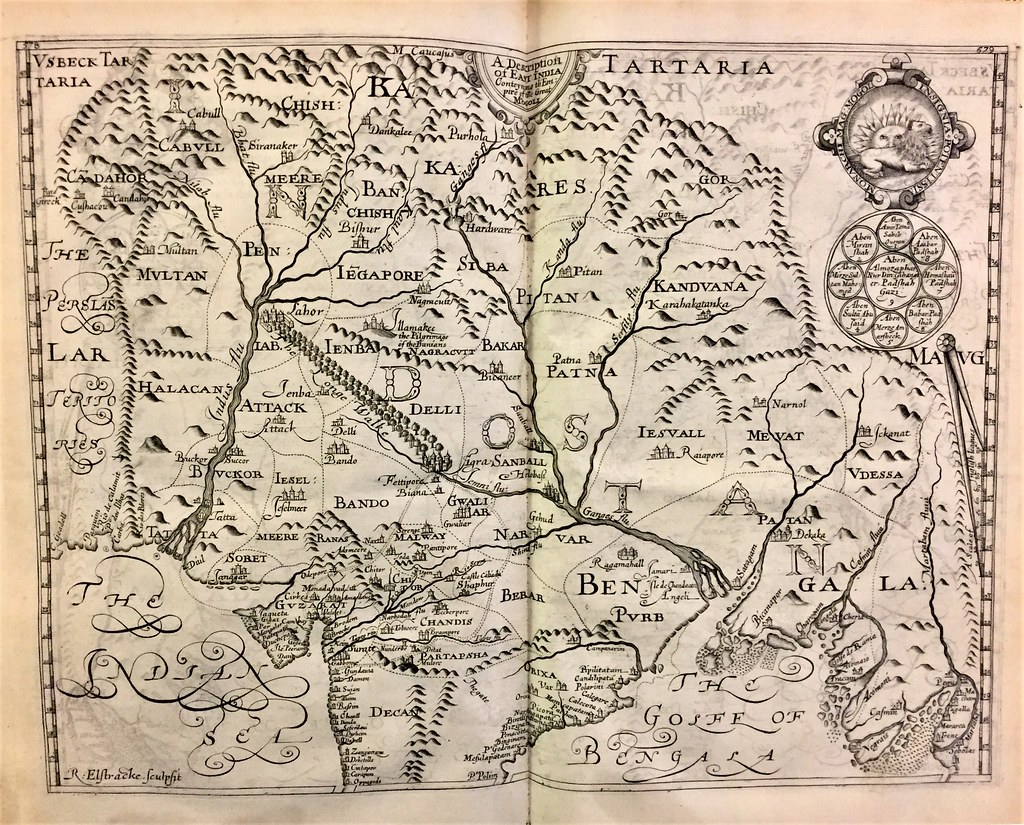 Purchas map India | Special Collections, Wake Forest University | Flickr