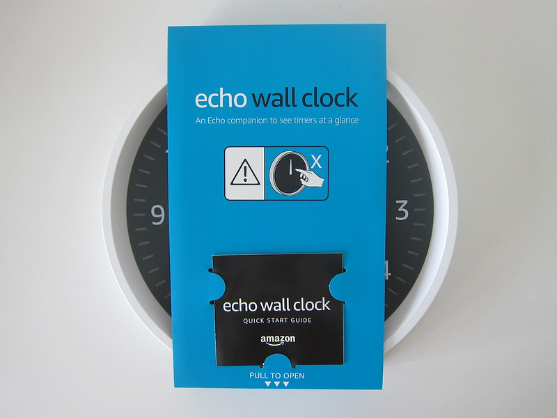 Amazon Echo Wall Clock - Box Open