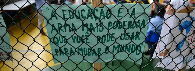 Educadores apontam que Escola Sem Partido representa um risco para a educação brasileira - Créditos: Tania Rêgo/Agência Brasil