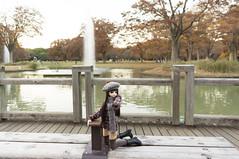 Hanako and Fountain Bench 6