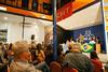 to público em Montevidéu, Uruguai, pela democracia no Brasil e pela liberdade de Lula, com participação da Bancada Progressista do Parlasul