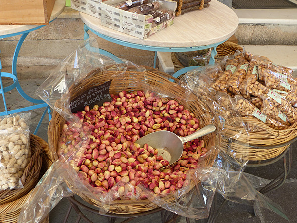 encore des pistaches fraîches