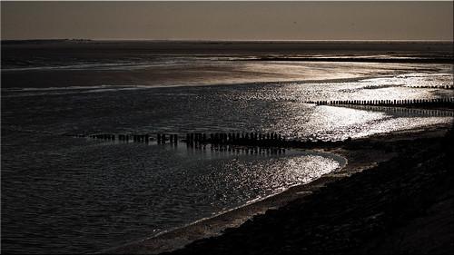 Amrum Island - view of the North Sea