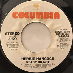 HERBIE HANCOCK:READY OR NOT(LABEL SIDE-A)