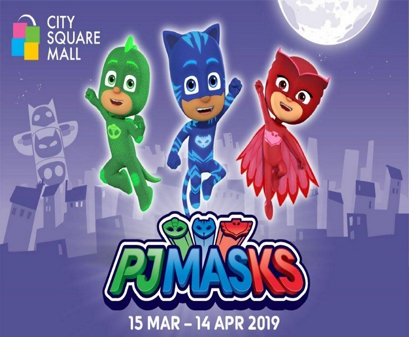 PJ Mask city square mall