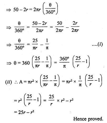 RD Sharma Class 10 Pdf Ebook Chapter 15 Areas related to Circles