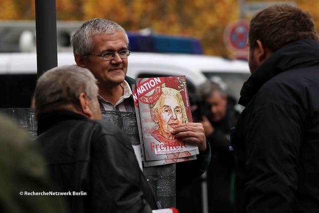 10.11.2018 Bielefeld: Neonazistischer Aufmarsch für Ursula Haverbeck von DIE RECHTE NRW