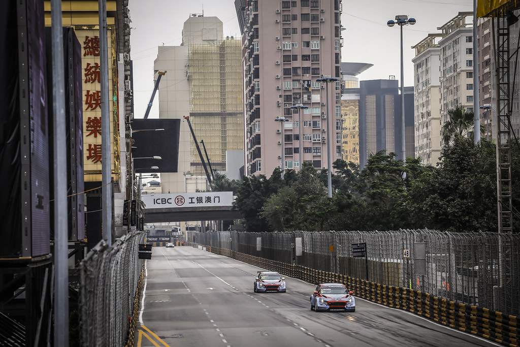 05 MICHELISZ Norbert, (hun), Hyundai i30 N TCR team BRC Racing, action during the 2018 FIA WTCR World Touring Car cup of Macau, Circuito da Guia, from november  15 to 18 - Photo Francois Flamand / DPPI