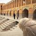 Middle East bridge from Silk Road era beautiful architecture - Khaju bridge of Isfahan, Iran by Germán Vogel