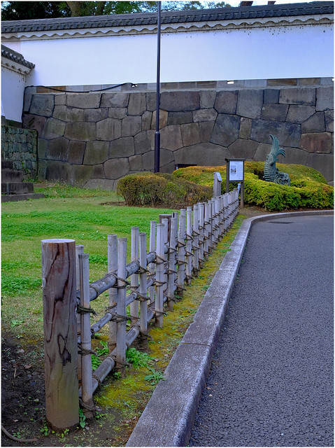 Photo:Ancient walls - Edo Castle-Imperial Palace - Tokyo, Japan.02 By Geoff Whalan