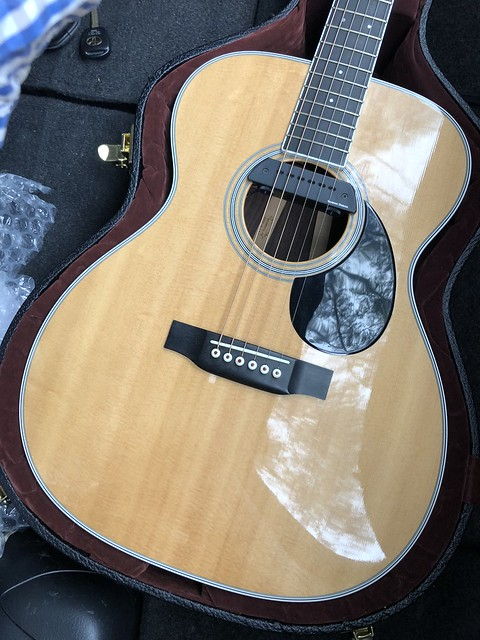 Soundhole Pickup That Fits A Martin OM? - The Acoustic