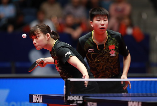 Junior Mixed Doubles - Finals at the2018 World Junior Table Tennis Championships