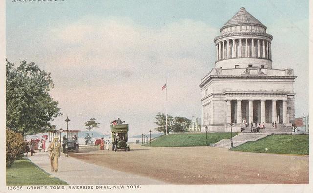 Tombe de Grant, promenade Riverside, New York