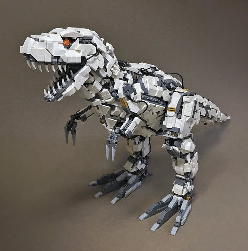 LEGO Mecha Tyrannosaur Mk2-09