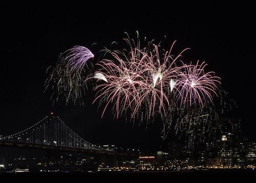 NYE Fireworks, San Francisco (Explored 1-2-19)