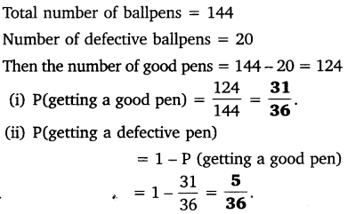 NCERT Solutions for Class 10 Maths Chapter 15 Probability 14