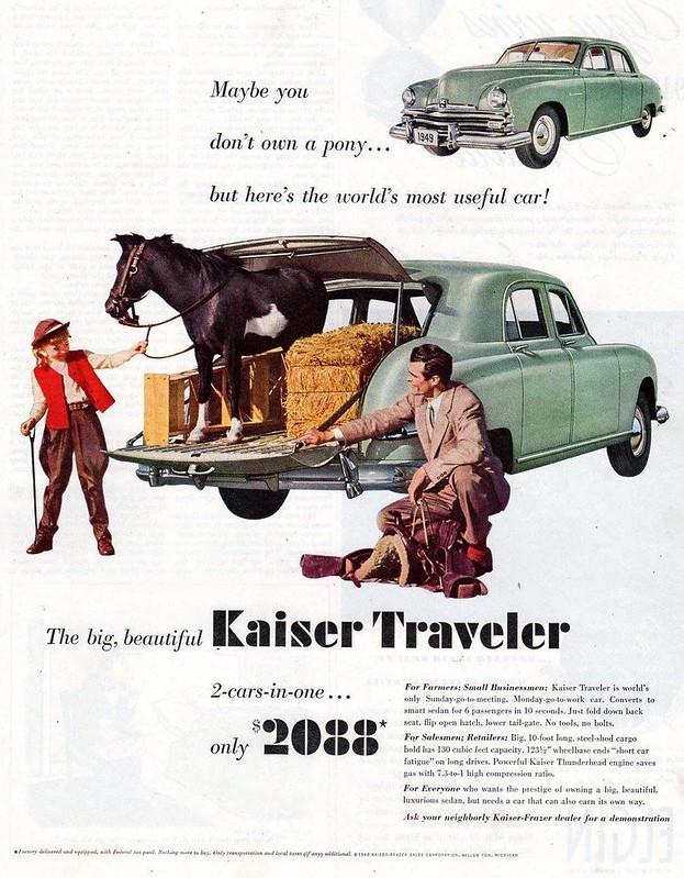 1949 Kaiser Traveler