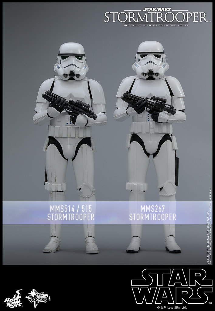 一起為銀河帝國效力吧! Hot Toys – MMS514 –《星際大戰》帝國風暴兵 Stormtrooper 1/6 比例人偶作品