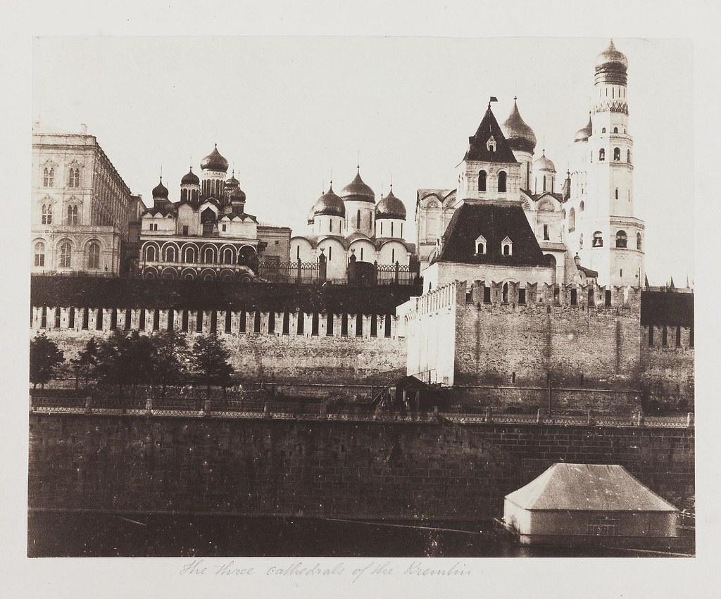 Москва. Три собора Кремля
