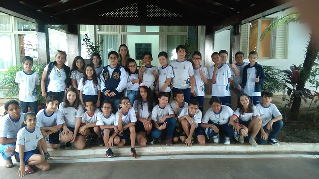19 de novembro de 2018 – A Residência Oficial de Águas Claras teve honra de receber um grupo de crianças da Escola Classe Vicente Pires.