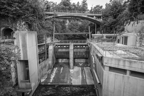 Barrage du Moulinet, Orbe