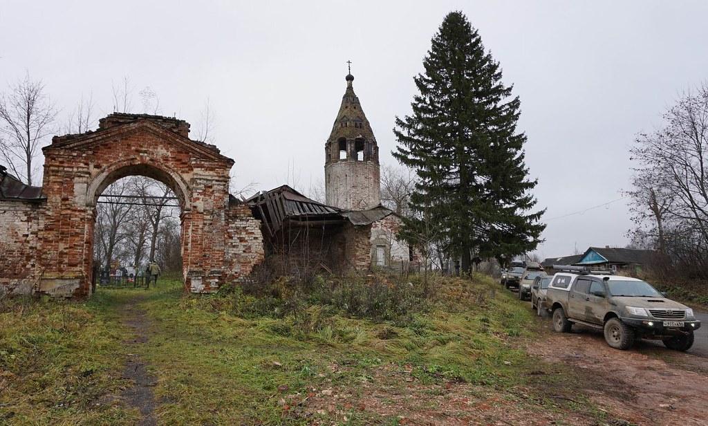 Заброшенные церкви Андреевского и Буяково