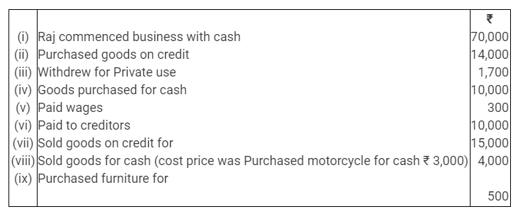 TS Grewal Accountancy Class 11 Solutions Chapter 2 Accounting Equation Q13